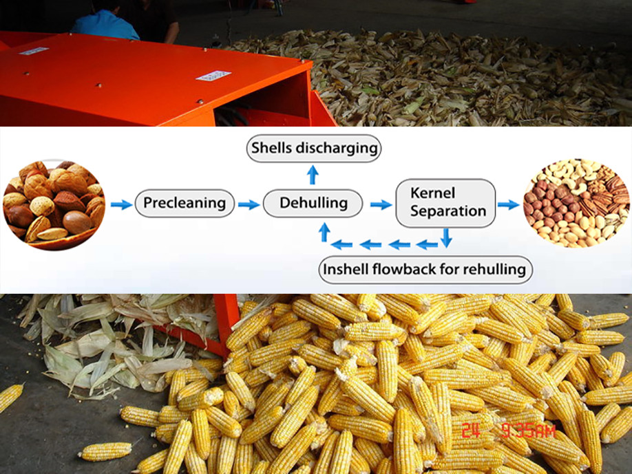 Hot sale sunflower seed sheller TFKH1200