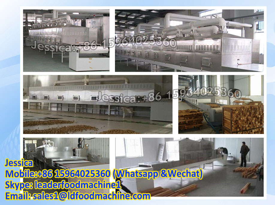 Microwave sterilizer for grain/grain sterilizer