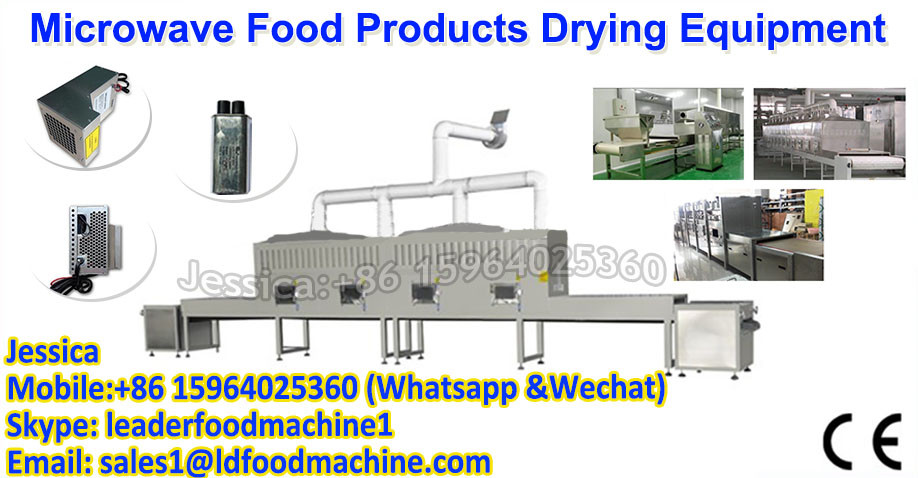 The sea eel microwave drying equipment