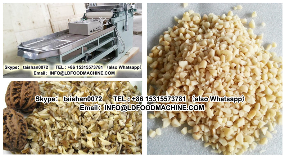 Automatic Pistachio Crushing Hazelnut Dicing Macadamia Nut Cutter Peanut Almond Chopping  Walnuts Chopper And Crusher