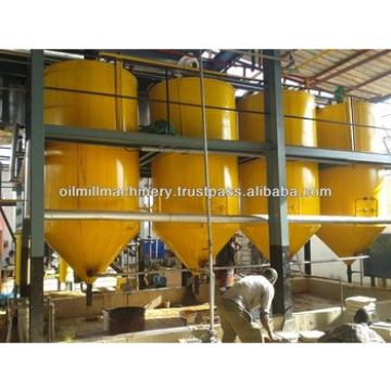 crude cottonseed oil refinery machine