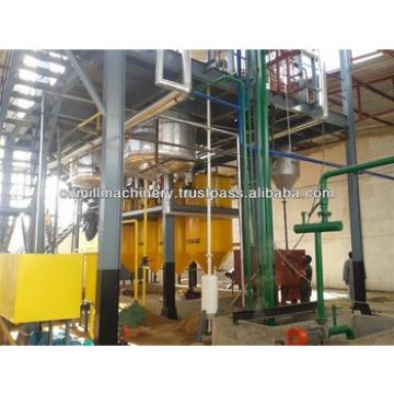 Turnkey service sesame oil refinery machine made in india