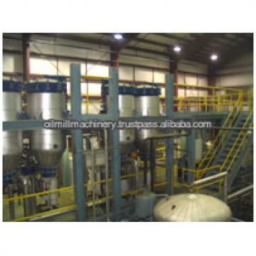 Hot sale and continuous vegetable oil refining equipment plant