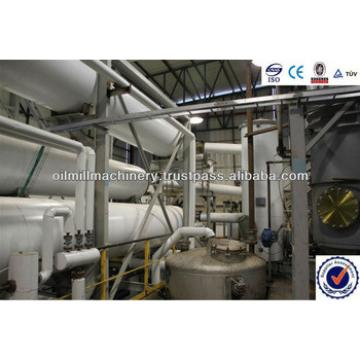 2014 Hot sales crude peanut oil refining to edible oil production line