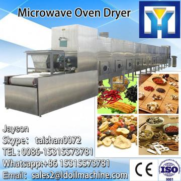 Stainless steel tunnel continuous microwave drying preserved pork oven