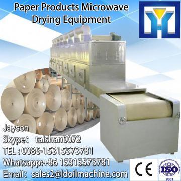 industriall microwave conveyor belt sterilizer/garlic onion powder sterilization system/rose tea sterilizing machine