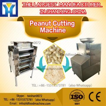 Medicine Slicer Peanut Cutting Machine / Peanut slicer Quadrate Adjustable