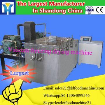 Potato peeling and slicing machine