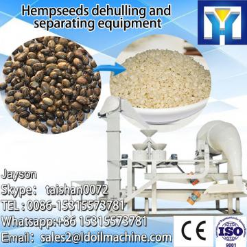 Sunflower seeds dehulling and separating machine