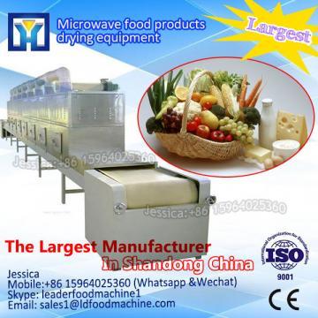 Microwave rice drying machine