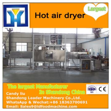 tunnel type industrial hot air apricot belt dryer