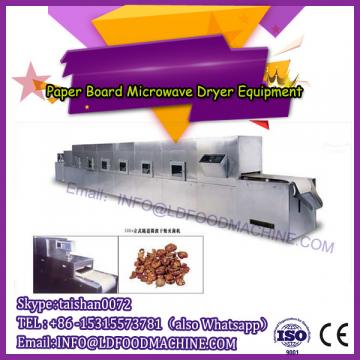 Tunnel conveyor microwave dryer/drying machine for paper board
