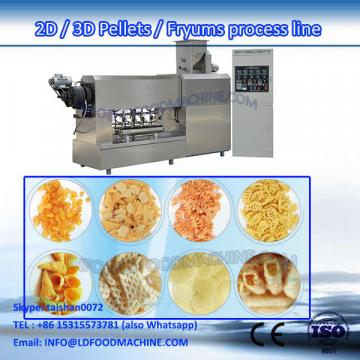 industrial fried potato chips machinery