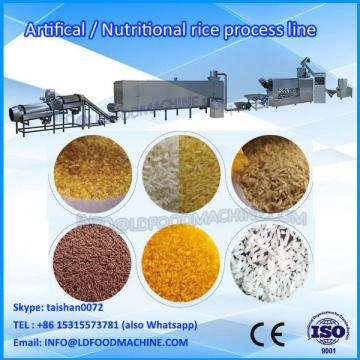 fast parboiled rice plant 2017 hot sale full automatic double screw extruder