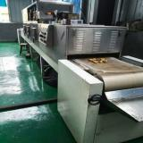 60KW microwave soybean baking roasting bulking machine