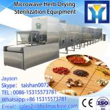 customized Microwave tunnel microwave drying sterilization machine in zambia