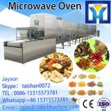 Tunnel continuous conveyor belt type stevia industrial microwave drying and sterilizing machine