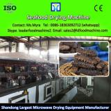 Seafood microwave drying machine, dry fish processing machinery