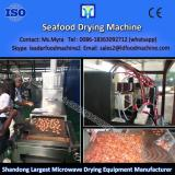 Food microwave drying machine/tomato processing machine /vegetable dryer