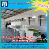 Continuous microwave for orange peel dryer/orange peel drying machine