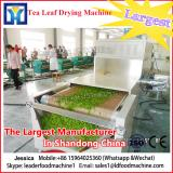Industrial microwave tunnel dryer dehydrator machine for drying lotus leaf