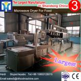 Continuous conveyor tunnel type microwave meat /beef bone dryer machine