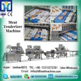 automatic stainless steel meat tenderizer machinery