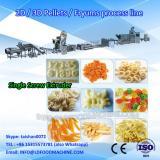 2015 hot sale 2d pellet snacks food processing extruder /production line