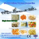 3D single screw extruded snack pellet food make machinery