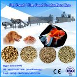 CE automatic double screw fish cat dog pet food extruder
