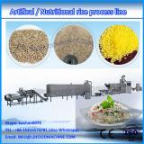 High quality extruded rice machinery