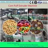 extruded puffed rice food snacks make machinery processing line