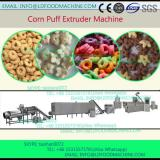 Full automatic corn starch core filling  manufacturing machinery/China snacks food pellet processing line