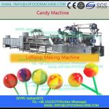 top grade professional gelatin candy manufacturing lollipop machinery
