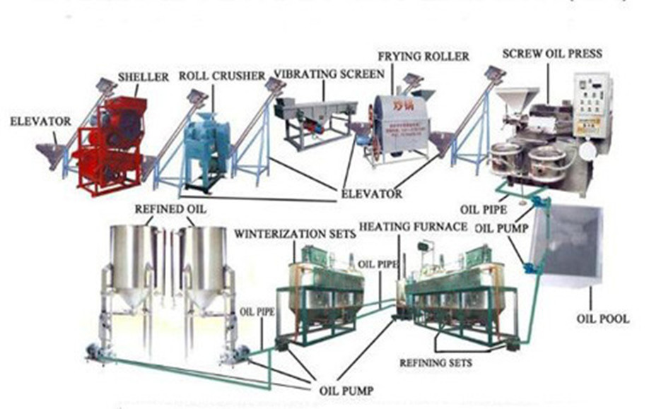 Grain Processing equipment for oil making machine