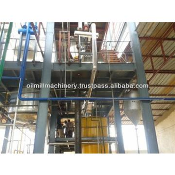 Cotton seeds oil refinery plant
