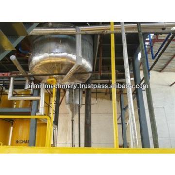 Crude palm/sunflower oil refinery equipments machine