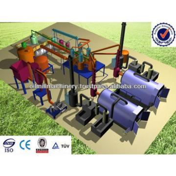 Tyre oil pyrolysis machine, tyre plastic recycling machine made in india