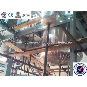 Crude soybean oil refinery equipment plant