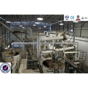 Crude Soybean Oil Refinery Plant 1-600 tons/day CE ISO certificate