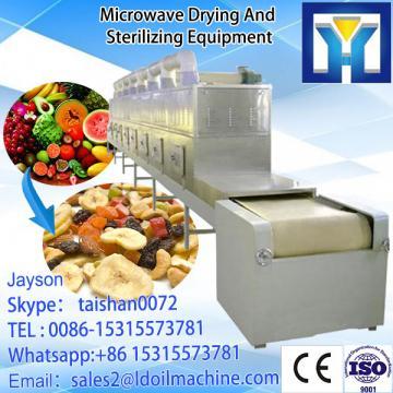 Continuous conveyor belt microwave green tea drying machine