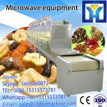 microwave brand JN-30 microwave tea leaf drying / processing machine
