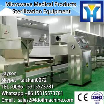 Jinan LD conveyor belt microwave drying and cooking oven for prawn
