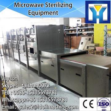 microwave tunnel organic green tea leaf drying machine /prcoessing machine