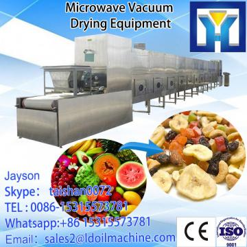 China supplier microwave drying and sterilizing machine for karkade
