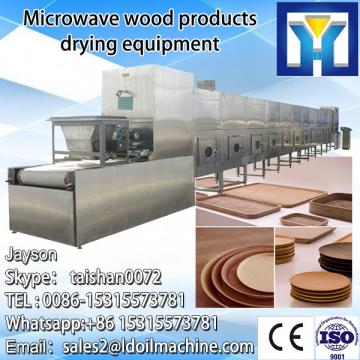 Conveyor belt type microwave fish slice dryer machine