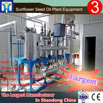 Direct factory machine to refine castor beans
