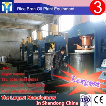 LD'e company castor seeds oil refining machine