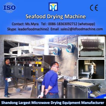 New microwave designed green tea drying machine with two times waste heat recovery