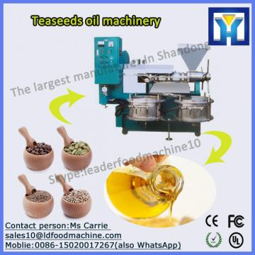 100T/D Continuous and automatic refined sunflower oil machine in 2016